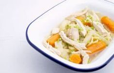 Risotto, Thai Curry, Chicken, Meat, Food, Carrots, Onion Soup Recipes, Curry Soup, Food For Kids