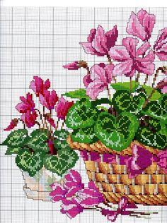 Motivos de flores en punto de cruz01