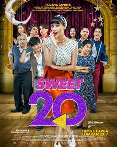 Sweet 20 Aka Miss Granny 2017 Poster Tatjana Saphira, Miss Granny, Purple Love, Western Movies, Movie List, Hindi Movies, Film Movie, Movies Online