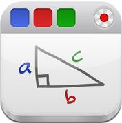 Free App  turns your iPad into a recordable whiteboard