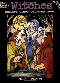 Witches Stained Glass Coloring Book (Dover Stained Glass Coloring Book) by Carol Schmidt http://www.amazon.com/dp/0486476545/ref=cm_sw_r_pi_dp_W6g9vb06MJKVF