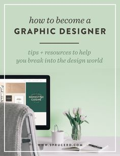 How to become a graphic designer | Spruce Rd. #designresource #graphicdesign…