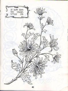 Gallery.ru / Фото #43 - Рисунки для вышивки гладью, лентами и ришелье-3 - Vladikana