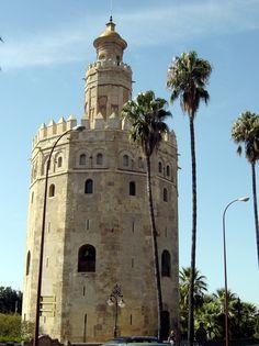 Sevilla - Torre del Oro © Robert Bovington http://bovington-posts.blogspot.com.es/2015/12/the-golden-tower-of-seville.html
