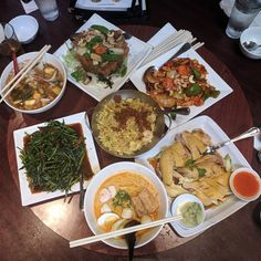 Malaysian food feast #food
