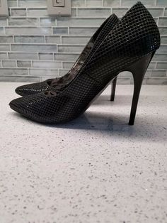 1e166dd38e3d Gorgeous Sexy Sparkly Holiday Wedding Baby Phat Patent Leather Heels Size  10 M  fashion