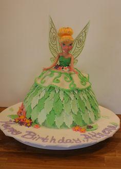 Anthena's Tinkerbell Cake