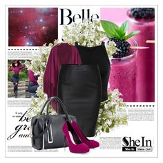 """""""SHEIN 3/2"""" by amelaa-16 ❤ liked on Polyvore featuring moda, Miss Selfridge, Lipsy i New Growth Designs"""