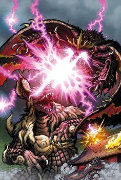 Godzilla Rulers of Earth #23 cover by KaijuSamurai on DeviantArt