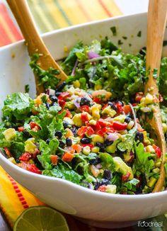 Top ten salad recipes on pinterest!