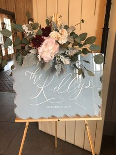 Wedding reception decorations Acrylic Wedding Sign Wedding Welcome Sign How A Filterless Air Purifie Dream Wedding, Wedding Day, Wedding Things, Cricut Wedding, Wooden Wedding Signs, Welcome To Our Wedding, Bridal Shower Welcome Sign, Hand Painted Signs, Painted Wood