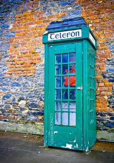 Classic Irish Phone Box