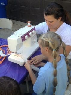 Activity Day Ideas: Gift Making: Bead & Fabric Necklace (Serving Others)