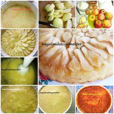 elmali pasta Honeydew, Peach, Tart, Fruit, Food, Pie, Essen, Tarts, Peaches