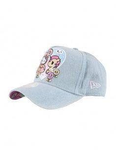 tokidoki x Hello Kitty Denim Donut Kitty Women s Snapback 3bcc11fab05c