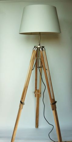 MODERN TRIPOD LIGHT STANDARD FLOOR LAMP WITHOUT SHADE   eBay