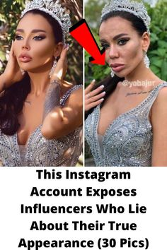 This #Instagram Account #Exposes Influencers Who Lie About Their True #Appearance (30 Pics) Wtf Funny, Funny Memes, Grey Hair Transformation, Tattoo Fails, Cute Funny Babies, Popular Shows, Aesthetic Backgrounds, Celebs, Celebrities