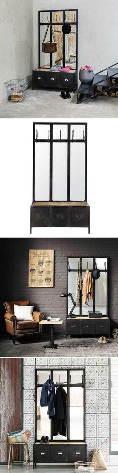 Console acier brut Duosteel Inspiration Industrielle Pinterest