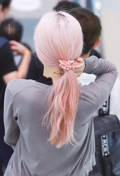 Girls' Generation Taeyeon, Girls Generation, My Girl, Cool Girl, Up Styles, Hair Styles, Kim Tae Yeon, Aesthetic Hair, Celebs