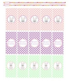 Mini Candybar Wrappers Free #Easter Printable