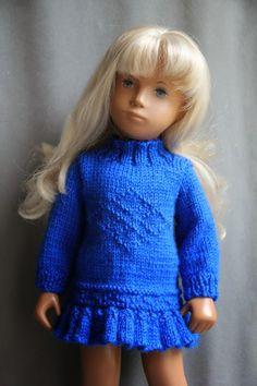 Sewing & Knitting for Sasha: Sasha Doll Clothes For Sale American Girl Dress, All American Girl, Girl Doll Clothes, Girl Dolls, Easy Knitting Patterns, Doll Patterns, Dolly Fashion, Sasha Doll, Pretty Dolls