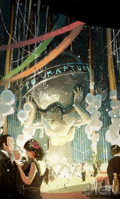 Rapture, BioShock Infinite, 2013.