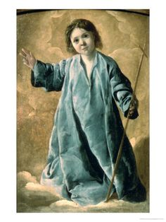 The Infant Christ    by Francisco de Zurbaran