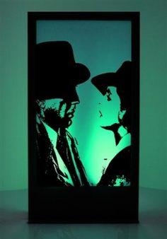 Casablanca Silhouette Panel