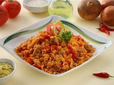 Maďarský guláš s rýží