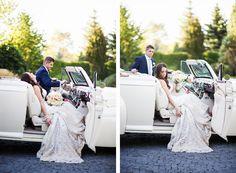 Vintage Car Bridals || Destination Wedding Photographer, Utah Weddings