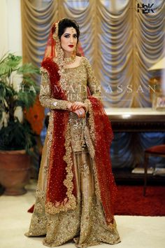 Asian Bridal Dresses, Bridal Mehndi Dresses, Beautiful Bridal Dresses, Nikkah Dress, Shadi Dresses, Pakistani Wedding Outfits, Bridal Dress Design, Wedding Dresses For Girls, Bridal Outfits