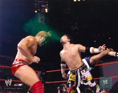 Because Asians spit green mist in your face.    - Tajiri