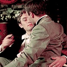 Animated gifFind images and videos about gif on We Heart It - the app to get lost in what you love. Gay Aesthetic, Couple Aesthetic, Jude Law, Cute Gay Couples, Boys Like, Oui Oui, Gay Art, Fujoshi, Character Inspiration
