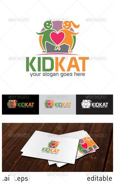 Realistic Graphic DOWNLOAD (.ai, .psd) :: http://vector-graphic.de/pinterest-itmid-1007025111i.html ... Kid Kat Logo Template ...  baby, care, cares, child, children, happy, kids, love, orphan, social  ... Realistic Photo Graphic Print Obejct Business Web Elements Illustration Design Templates ... DOWNLOAD :: http://vector-graphic.de/pinterest-itmid-1007025111i.html