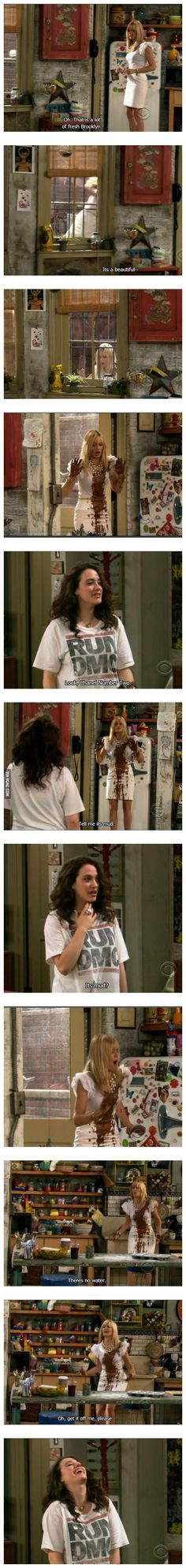 2 broke girls... Max being Max