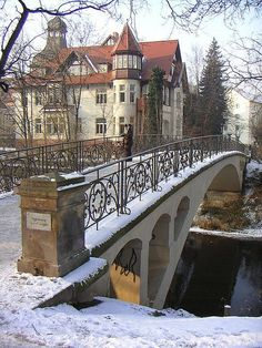 Pedesterian Arch, Erfurt, Thuringia - Germany