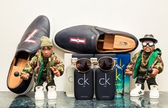 """""""I can't live without Calvin Klein perfumes, all of my sunglasses, Timberlands and Air Jordan, MTV and Beats by Dre studio wireless headphones."""" http://www.thecoveteur.com/elly-j-soul-brothers/"""