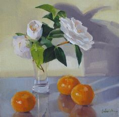 Creamsicle fruit flowers floral painting still life orange and white daily painting -- Sarah Sedwick Fruit Flowers, Fruit Painting, Painting Still Life, Cool Sketches, Original Paintings, Oil Paintings, Flower Art, Graffiti, Wall Art