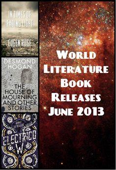 World Literature Book Releases 2013