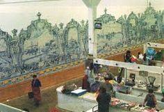 Resultado de imagem para painel azulejos mercado setubal