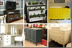 Great ideas to do with old dressers