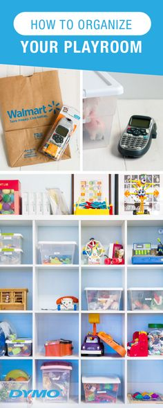 Create an organization system that lasts—and is something the whole family can maintain—with the help of the affordable DYMO® LetraTag™ Personal Label Maker from Walmart! See how it transformed this playroom into a tidy paradise alongside plastic tubs and convenient cubbies. If you're looking to get ahead of seasonal cleaning one room at a time, this is a great place to start!
