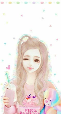 Cute Love Pictures, Girly Pictures, Girly Pics, Cartoon Girl Images, Girl Cartoon, Anime Girl Cute, Anime Art Girl, Kylie Padilla, Disney Divas