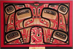 Northwest Coast Native American art. Unsure of the artist and tribe name.