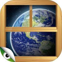 Atlas del Mundo para niños - una ventana abierta al mundo con juegos para descubrir y aprender sobre la geografía y la naturaleza del Planeta Tierra por Planet Factory Interactive