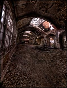 Skylight - West Park Abandoned Asylum