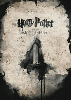 Harry Potter and the Order of the Phoenix by Nir Vana Harry Potter Poster, Always Harry Potter, Harry Potter Jokes, Harry Potter Universal, Harry Potter World, Bob Ross, Hermione Granger, Hogwarts, Saga