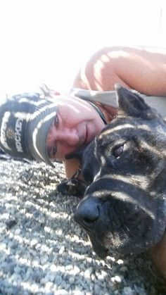 """MY PIT KILLED A DOG!! Andrew """"Drew"""" Panton, owner of pits Buddy (Am Bulldog) and Jake (Presa Canario), both were loose when they attacked Jeff Clark and killed his 12yo Lhasa mix dog Charlie. A judge orders Jake euthanized but releases Buddy back to Panton. (Jan 2015, Canada)  http://www.regionaldistrict.com/media/183103/Judge_Anne_Wallace_Decision___RDCO_v__Panton.pdf https://shawglobalnews.files.wordpress.com/2015/08/cute-photo-of-them-both.jpg?quality=70&strip=all&w=720&h=480&crop=1"""