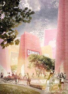 Ulargui Arquitectos /// Shopping complex @ Mount Lu