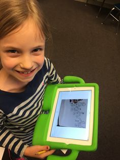 Book Trailers with Shadow Puppet: http://sincerelysecondgrade.blogspot.com/2015/01/readbox-less-waiting-more-reading.html